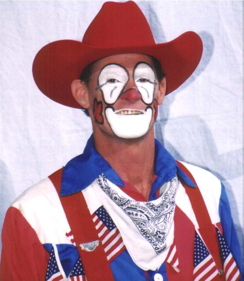 Rodeo Clown Faces http://www.keithisley.com/photos.htm